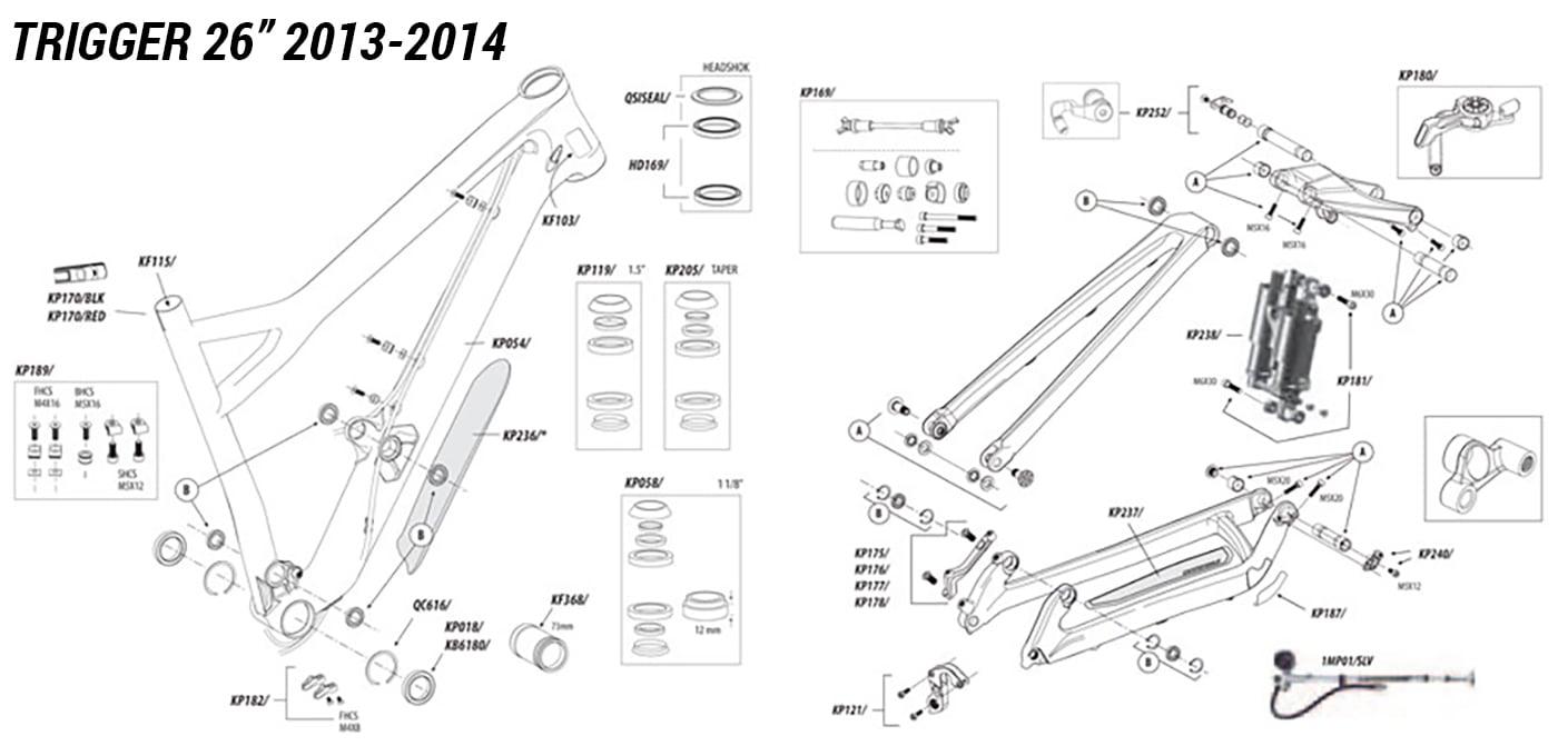 front derailleur parts diagram